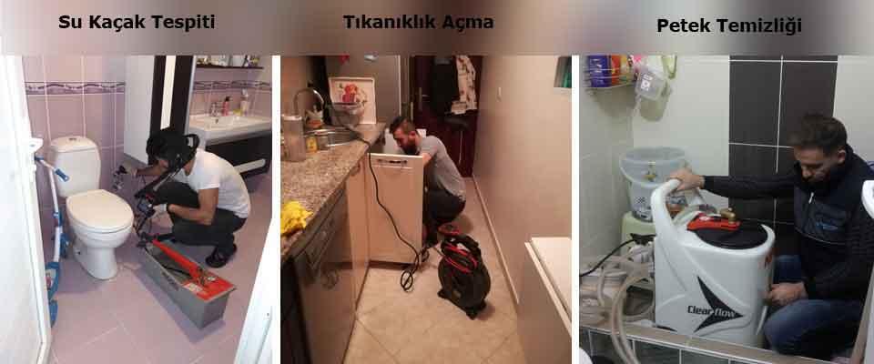 Çekmeköy Su Kaçağı Bulma Tıkanıklık Açma